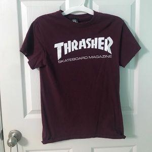 small thrasher t shirt